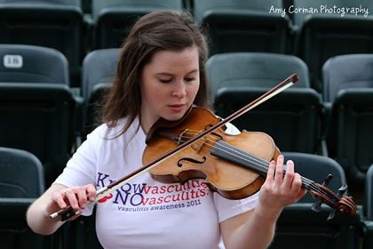 Young Musician's 'Violin for Vasculitis' Charity Strikes a Chord with Fellow Patients