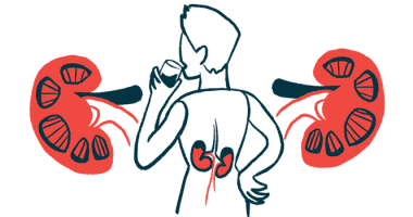 males not at higher risk for kidney failure/Anca Vasculitis News/person with kidney inflammation illustration